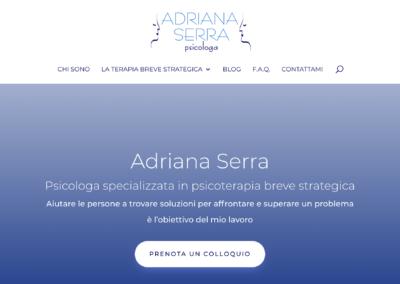 Sito web di Adriana Serra