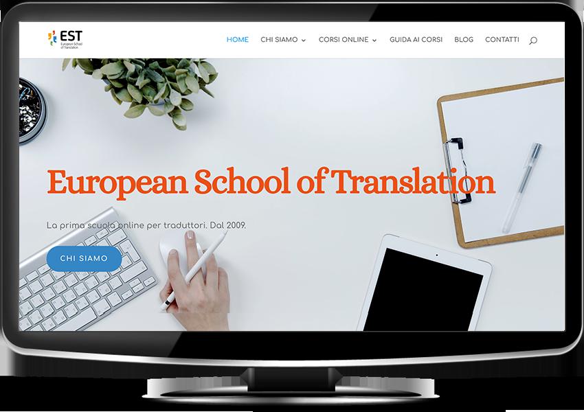 tradurre il sito web